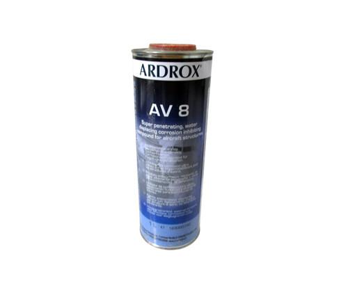 Chemetall ARDROX® AV 8 Brown MIL-PRF-16173E Class 1, Grade 1 & 4 Spec Corrosion Inhibiting Compound - Liter Can