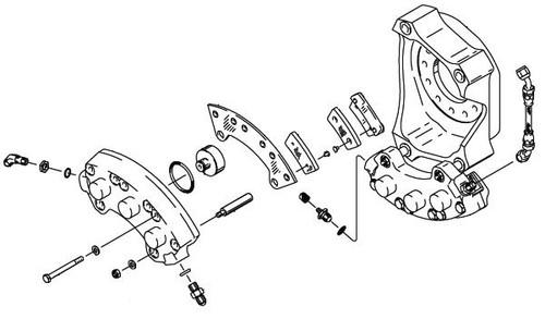 Cleveland Wheel & Brake 30-98 Brake Assembly