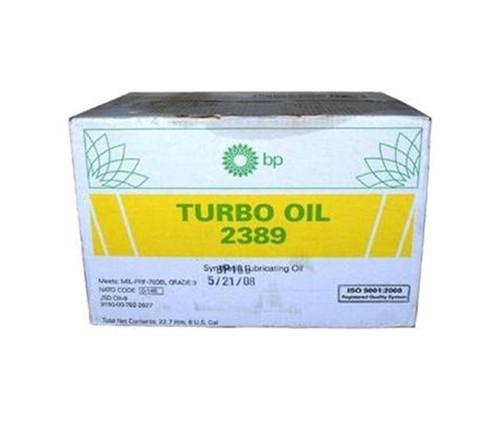 Eastman™ Turbo Oil 2389 Clear MIL-PRF-7808 Grade 3 Spec Aircraft Turbine Engine Lubricating Oil - 24 Quart (946 mL)/Case