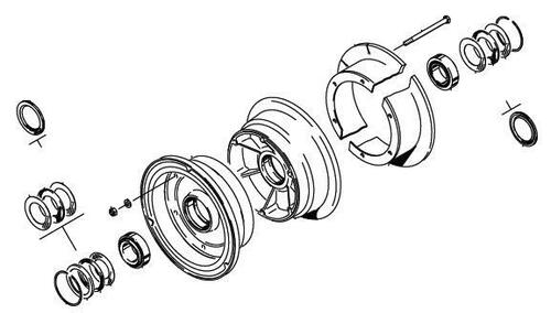 Cleveland Wheel & Brake 40-98A Wheel Assembly