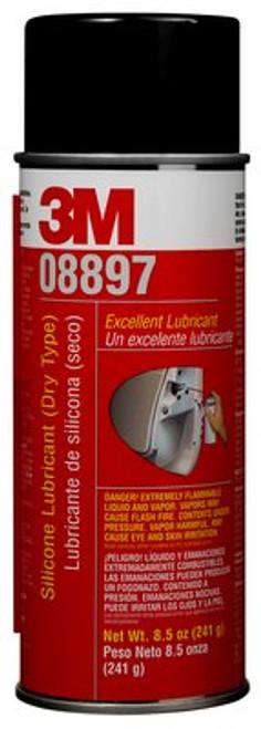 3M™ 051135-08897 Transparent (Dry Type) Silicone Lubricant Plus - 241 Gram (8.5 oz) Aerosol Can