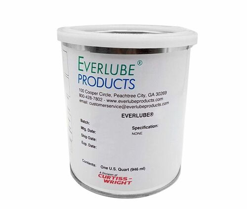 Everlube® Ecoalube® 642 40% Concentrate Gray/Black MIL-L-46010E Type II Spec Thermally Cured Mos2 Solid Film Lubricant - Quart Can
