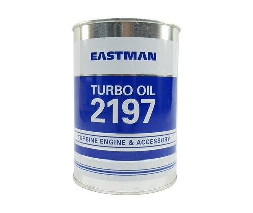 Eastman™ Turbo Oil 2197 Clear MIL-PRF-23699 HTS Spec Aircraft Turbine Engine Lubricating Oil - 946 mL (Quart) Can