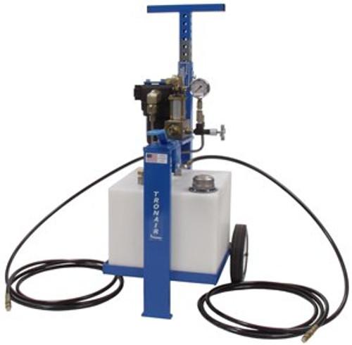 Tronair® 06-5041-3610 Blue 5000 PSI Phosphate Ester Fluid Type 8-Gallon Hydraulic Component Test Cart