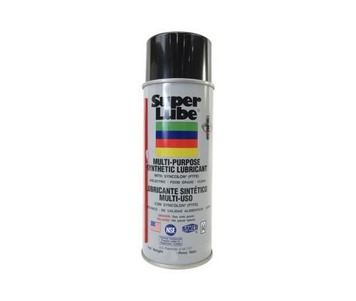 Super Lube® 31110 Translucent Multi-Purpose Synthetic Lubricant with Syncolon® (PTFE) - 311 Gram (11 oz) Aerosol Can