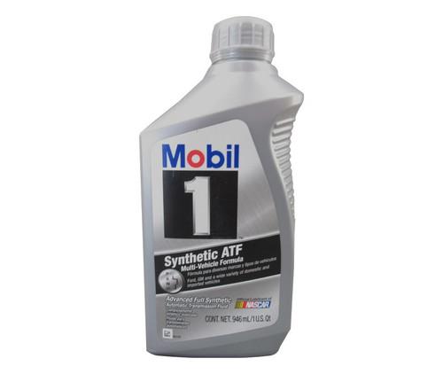 ExxonMobil Mobil 1 Synthetic ATF Synthetic Automatic Transmission Fluid - Quart Bottle