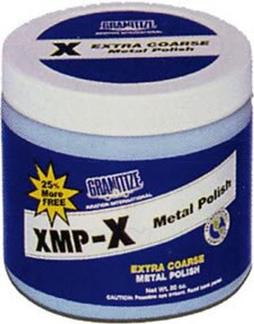 GRANITIZE™ Aviation XMP-X Extra Coarse Coarse Scratches Metal Polish - 20 oz Plastic Jar