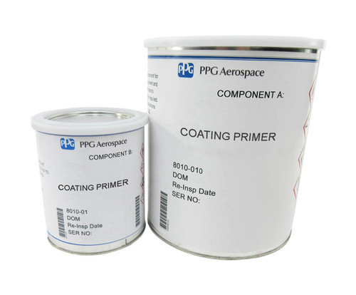 PPG Aerospace® Deft® 44-GN-008A Green MIL-PRF-85582E Type I, Class C1 Spec Chromated Water Reducible Type II Epoxy Primer - 3:1 Gallon Kit