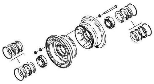 Cleveland Wheel & Brake 40-76F Wheel Assembly