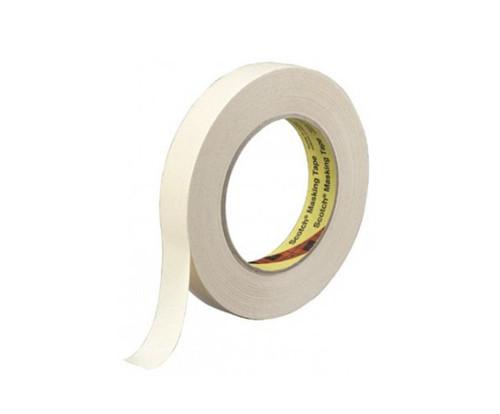 3M™ 021200-03775 Scotch® 231/231A Tan 7.6 Mil Paint Masking Tape - 12 mm x 55 m Roll