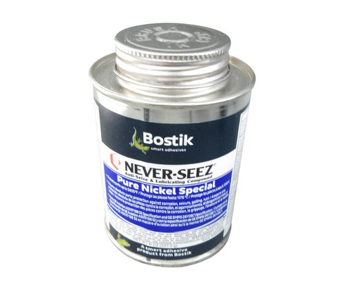 Bostik NSBT-8N NEVER-SEEZ® Pure Nickle Anti-Seize & Lubricating Compound - 8 oz Brush Top Can