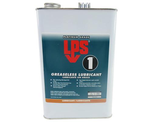 LPS® 01128 LPS-1 Amber Greaseless Penetrant Lubricant - Plastic Gallon Jug