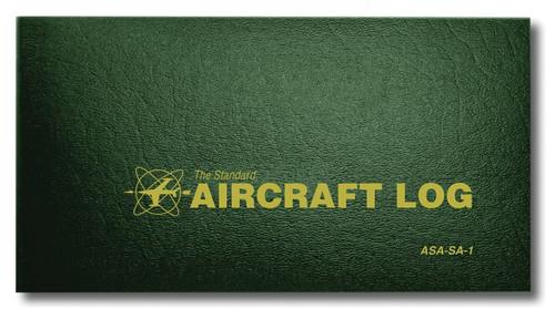 Aviation Supplies & Academics ASA-SA-1 Green The Standard™ Soft Cover Aircraft Logbook