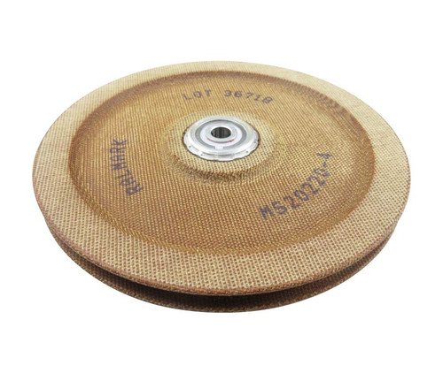 Military Standard MS20220-4 Phenolic Non-Metallic Sheave Pulley, Grooved