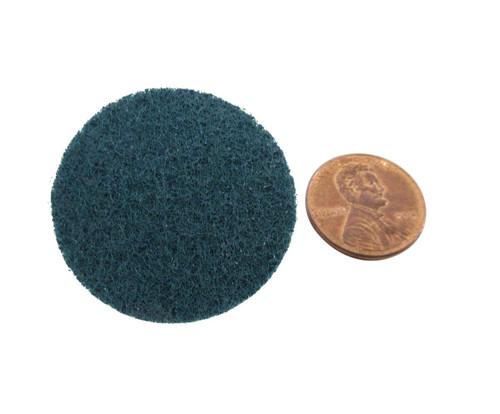 "3M™ 048011-05530 Scotch-Brite™ Roloc™ Sc-Dr Blue 3"" Very Fine Surface Conditioning Disc"