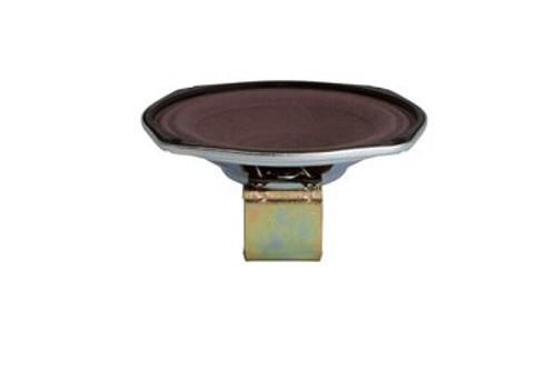 "MISCO P5VA-C8962 Oval 5"" Flame Retardant 6 Watt / 8 Ohm Pin Cushion Speaker"