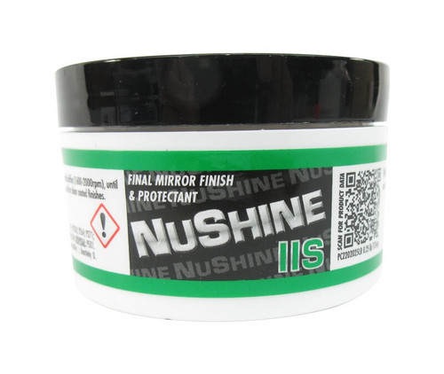 Nuvite PC2202025LB Nushine II Grade S Final Finish Only Aircraft Metal and Paint Polish - 1/4 lb Jar