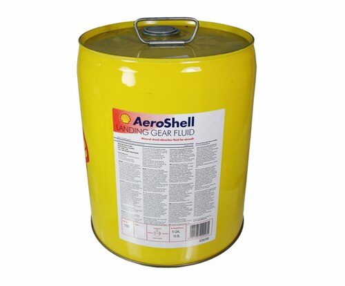 AeroShell™ LGF Yellow Mineral Hydraulic Landing Gear Fluid - 5 Gallon Pail