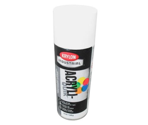 KRYLON® K01501 Industrial ACRYLI-QUIK™ Glossy White (OSHA White) Paint - 340 Gram (12 oz) Aerosol Can