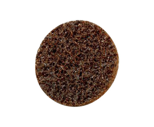"""3M™ 048011-16508 Scotch-Brite™ Roloc™ SC-DS Brown 1"""" A/O Coarse TS Surface Conditioning Disc"""