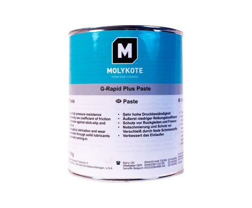 Dupont™ 4045284 MOLYKOTE® G-Rapid Plus Black Solid Lubricant Paste - 1 Kg Can