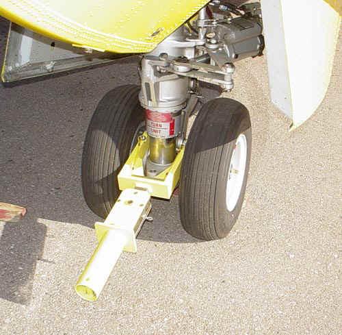 Brackett TY-CA415 Yellow Bombardier CL-215 & CL-415 Multi-Link Towbar Head