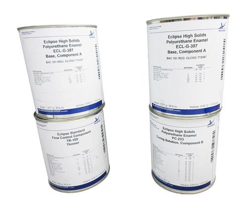 AkzoNobel ECL-G-387/PC-233/TR-109 Eclipse® BAC 101 Gloss Red BMS 10-60/BMS 10-72 Spec Low VOC Polyurethane Topcoat - 4-Gallon Kit