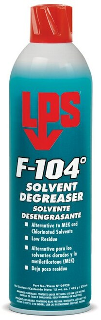 LPS® 04920 F-104° Solvent Degreaser - 15 oz Aerosol Can