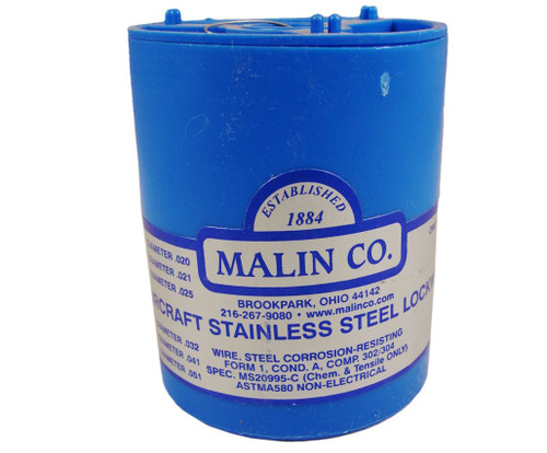 """Military Standard MS20995C21 Stainless Steel 0.021"""" Diameter Safety Wire - 1 lb Roll"""
