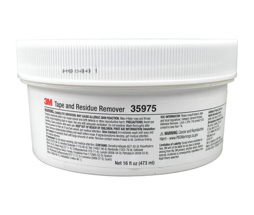 3M™ 051131-35975 Tape and Residue Remover - 473 mL (16 oz) Tub