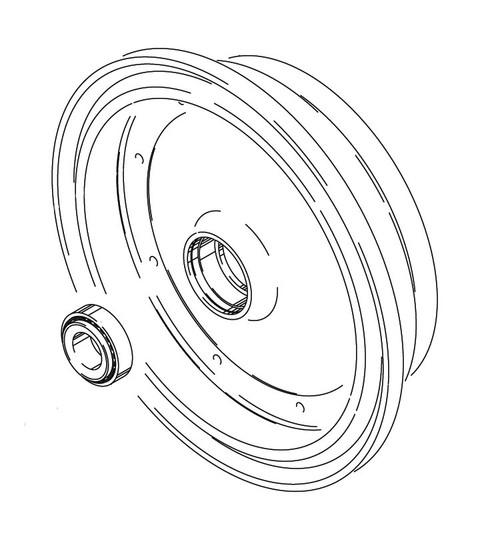 Cleveland Wheel & Brake 162-01700 Outer Wheel Half Assembly