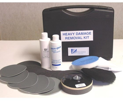 Micro-Mesh® HDK Aircraft Window Heavy Damage Removal Kit