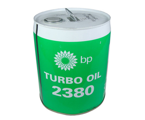 Eastman™ Turbo Oil 2380 Clear MIL-PRF-23699 Spec Aircraft Turbine Engine Lubricating Oil - 18.42 Kg (5 Gallon) Steel Pail