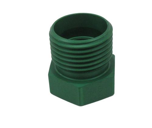 Military Standard MS21913D10 Aluminum Plug, Tube Fitting, Threaded
