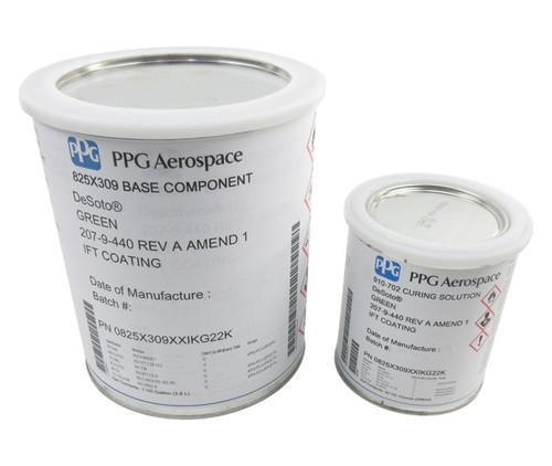 PPG Aerospace® DeSoto® 825X309 Green AMS-C-27725 Type II Spec Integral Fuel Tank Coating - Gallon Kit