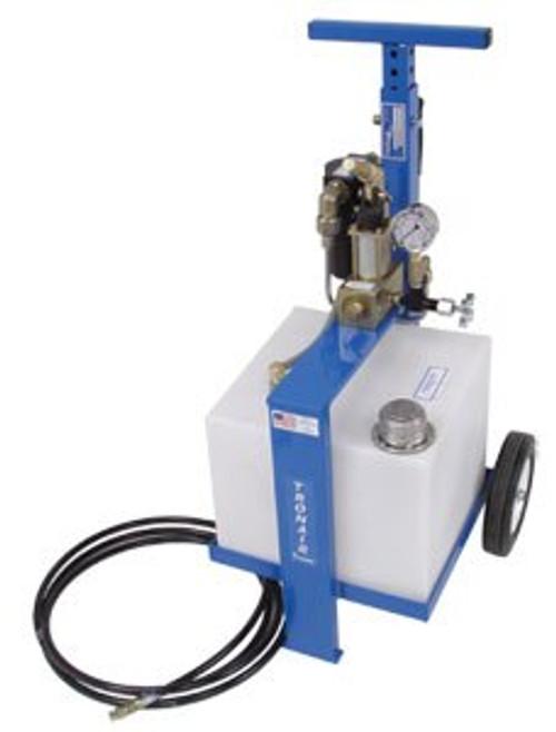 Tronair® 06-5040-3600 Blue 5000 PSI Phosphate Ester Fluid Type 8-Gallon Hydraulic Component Test Cart