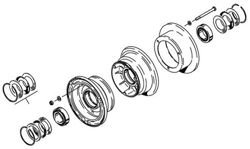 Cleveland Wheel & Brake 40-90 Wheel Assembly