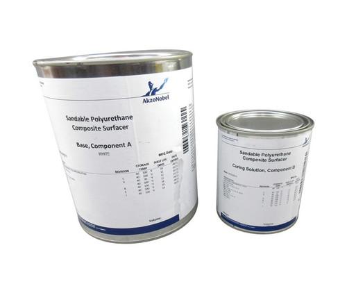 AkzoNobel 8W5/50C3 Off-White BAC 5837 (U) Spec Sandable Polyurethane Composite Surfacer - 1.25 Gallon Kit