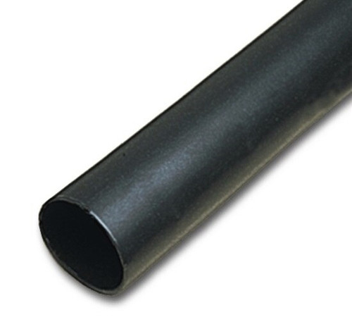 "3M™ 051135-36694 Black FP-301-1/4-Black-48"" Heat Shrink Thin-Wall Tubing - 1/4"" x 48"" Pieces"