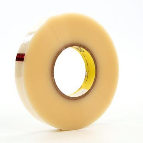 "3M™ 021200-04352 Scotch® 853 Transparent 2.1 Mil Polyester Film Tape - 2"" x 72 Yard Roll"