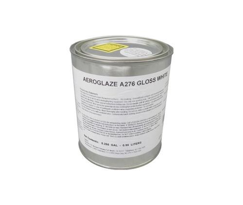 AEROGLAZE® A276 Gloss White Reflective Moisture-Curing Polyurethane Coating - Quart Can