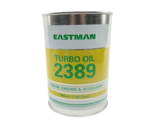 Eastman™ Turbo Oil 2389 Clear MIL-PRF-7808 Grade 3 Spec Aircraft Turbine Engine Lubricating Oil - 946 mL (Quart) Can