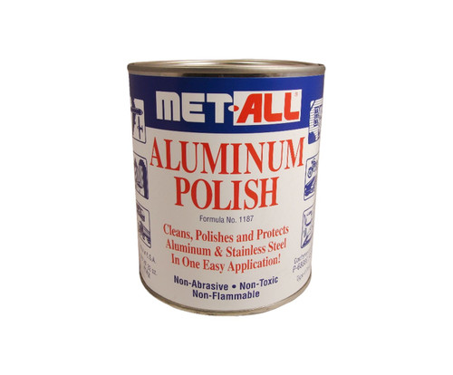 Met-All TC-20 Aluminum & Stainless Polish - 32 oz Can