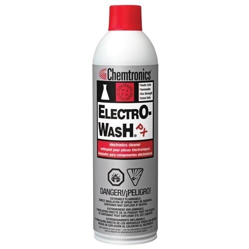Chemtronics® ES1210 Electro-Wash® PX Clear Degreaser - 354 Gram (12.5 oz) Aerosol Can