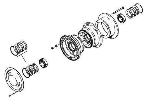 Cleveland Wheel & Brake 40-75Z Wheel Assembly