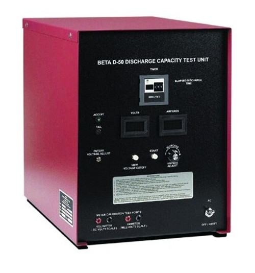 Power Products 4126 Model D-50 Aircraft Lead Acid & Ni-Cad Battery Analyzer