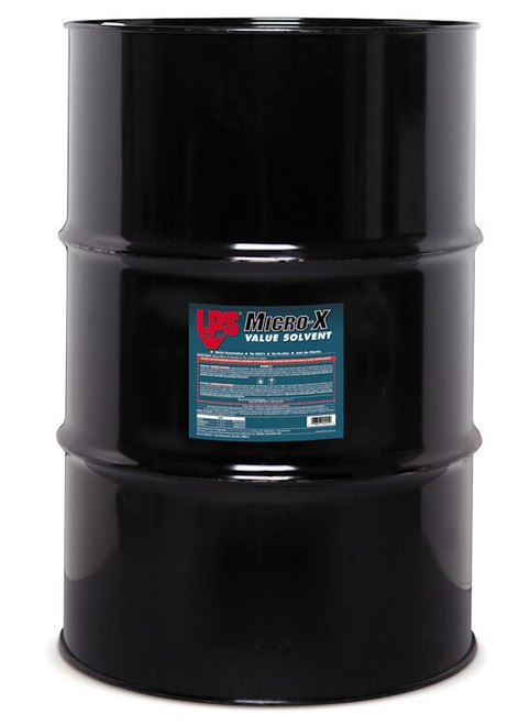 LPS® 04555 Micro-X Fast Evaporating Contact Cleaner - 55 Gallon Steel Drum