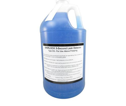 Sherlock CG-G Type CG Pure Oxygen & Compressed Gas Leak 5-Second Detector - Gallon Jug