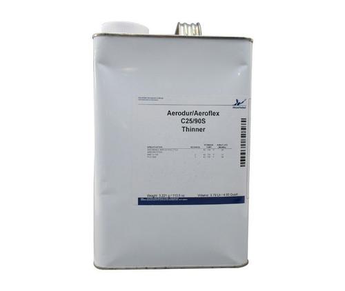 AkzoNobel C 25/90S Clear BMS10-100 Spec Aerodur/Aeroflex Thinner - Gallon Can