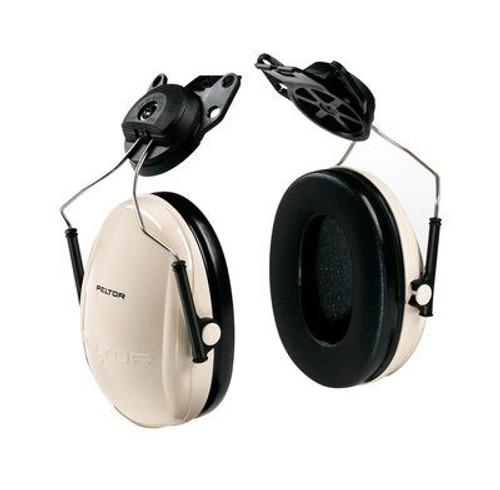 3M™ H6P3E/V PELTOR™ Optime™ 95 Beige/Black 21 db Cap-Mount Earmuff